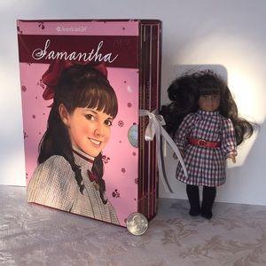 American Girl Samantha Mini Doll & 6 Book Set 💕